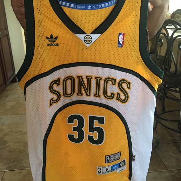 watch dfecf dfd85 NWT Seattle SuperSonics Kevin Durant NBA Jersey NWT